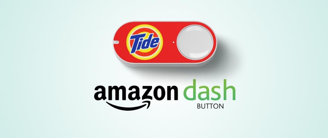 Un Dash Button Amazon de la marque Tide