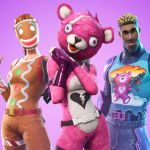 3 personnages de Fortnite