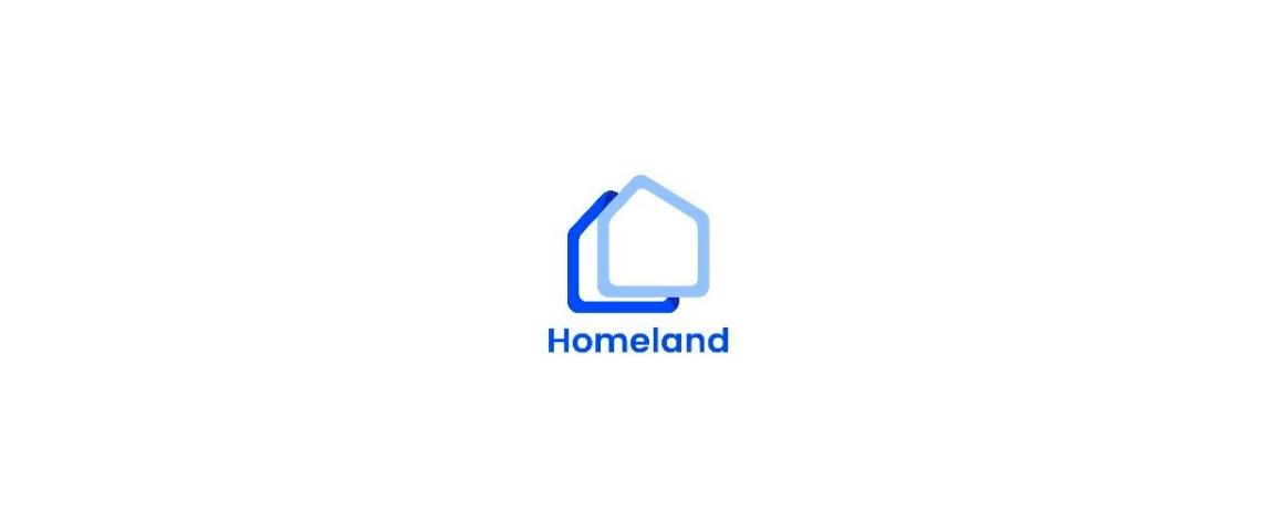 Logo de la start-up Homeland