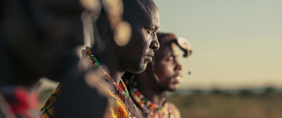 photo d'hommes africains