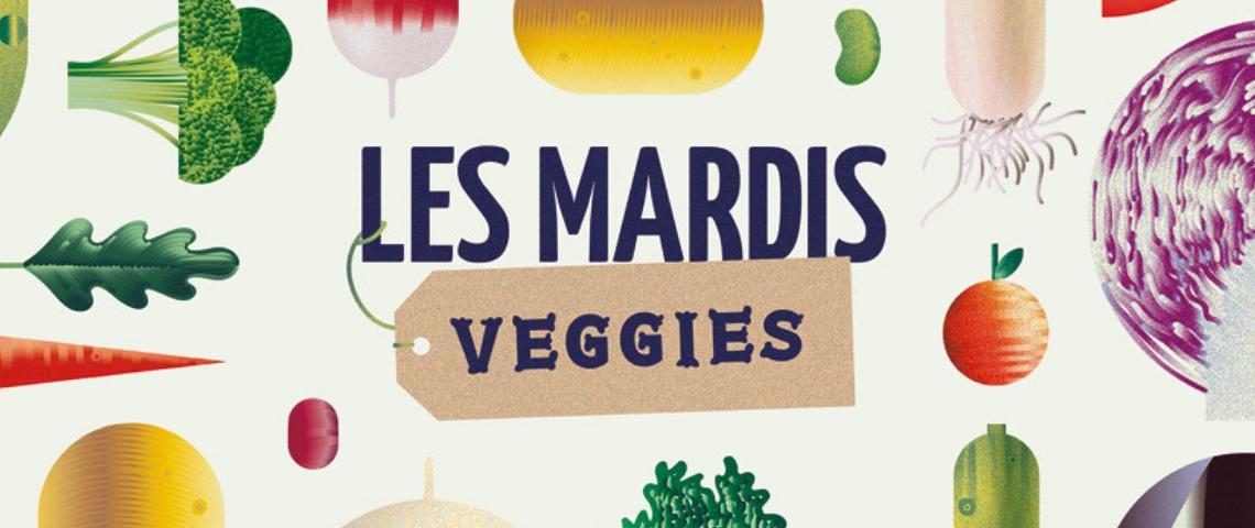 Foodchéri lance les mardis veggies