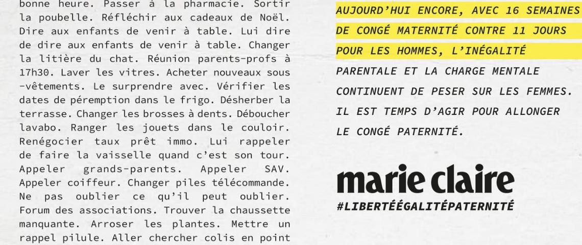Page du magazine Maire Claire