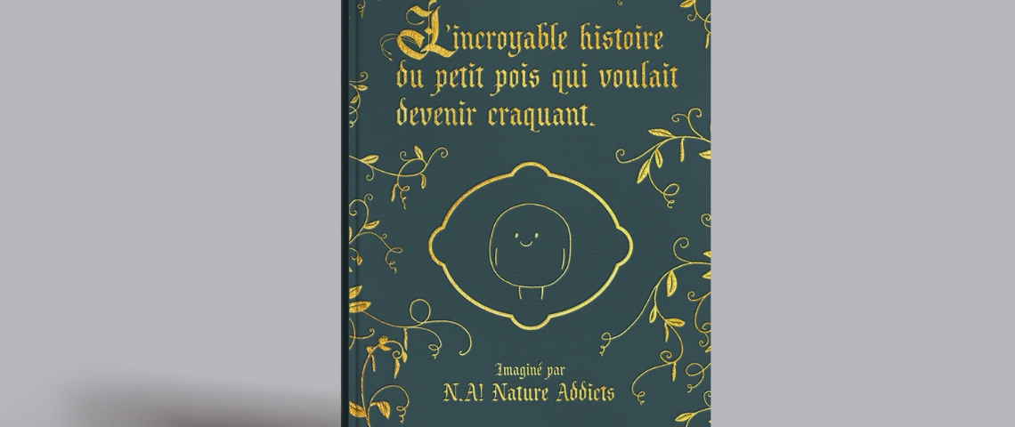 La couverture d'un livre de contes