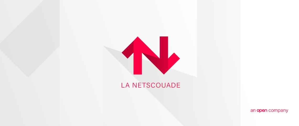 Nouveau logo de l'agence La Netscouade