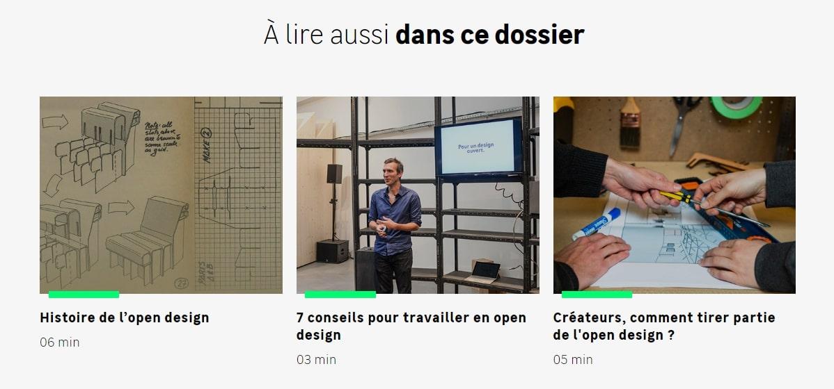 Photos open design