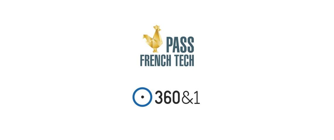 Logo du Pass French Tech et de la startup 360&1