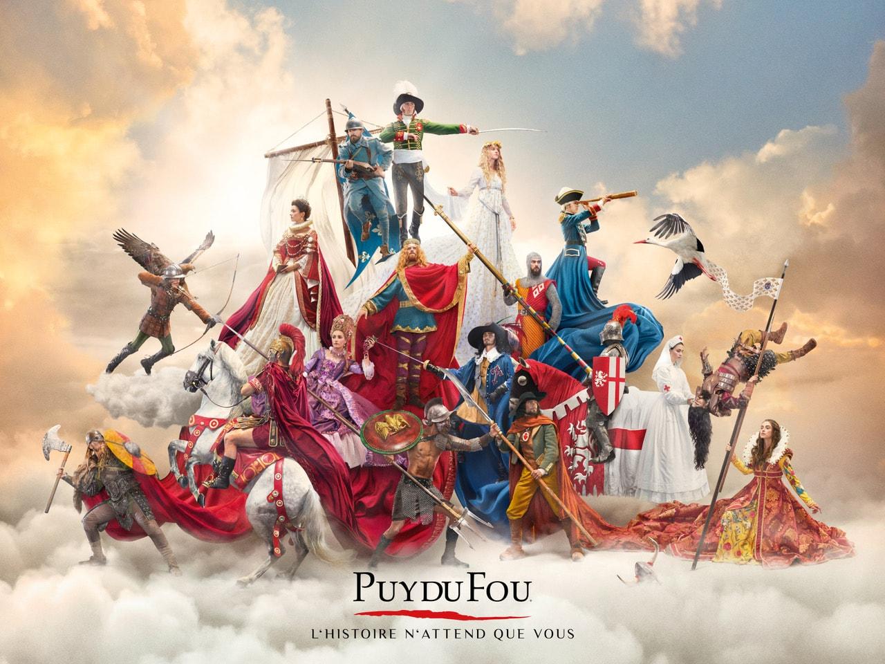 L'affiche du Puy du Fou 2019