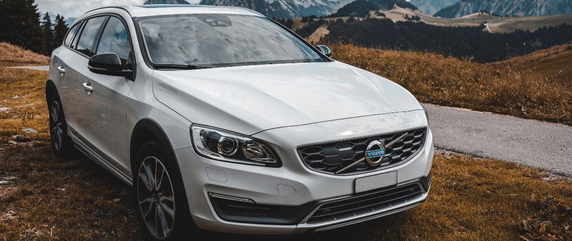 Une voiture Volvo