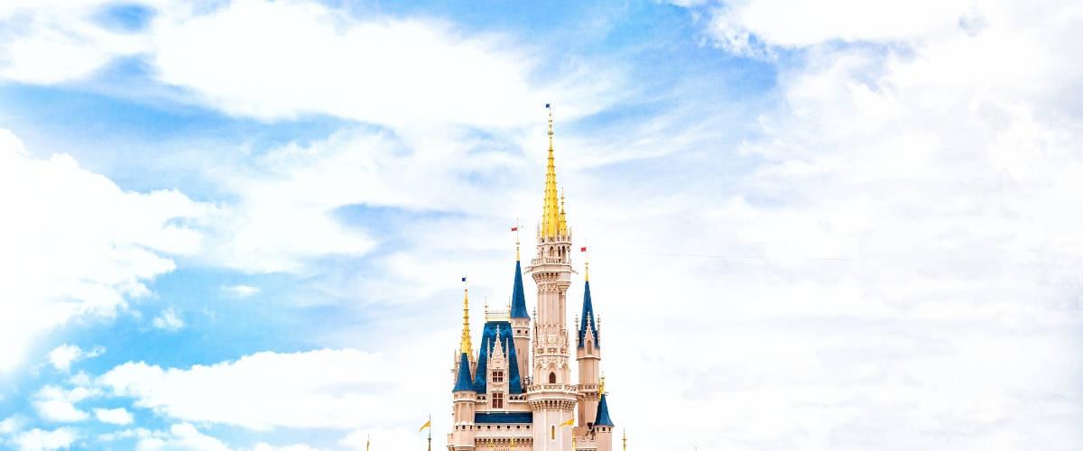 Château Disney Land de jour