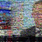 Ecran de télévision brouillé