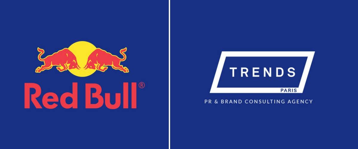 Logo de Red Bull et Trend Paris