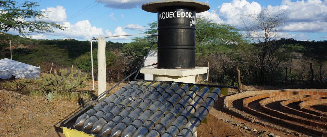 chauffe eau solaire low tech lab