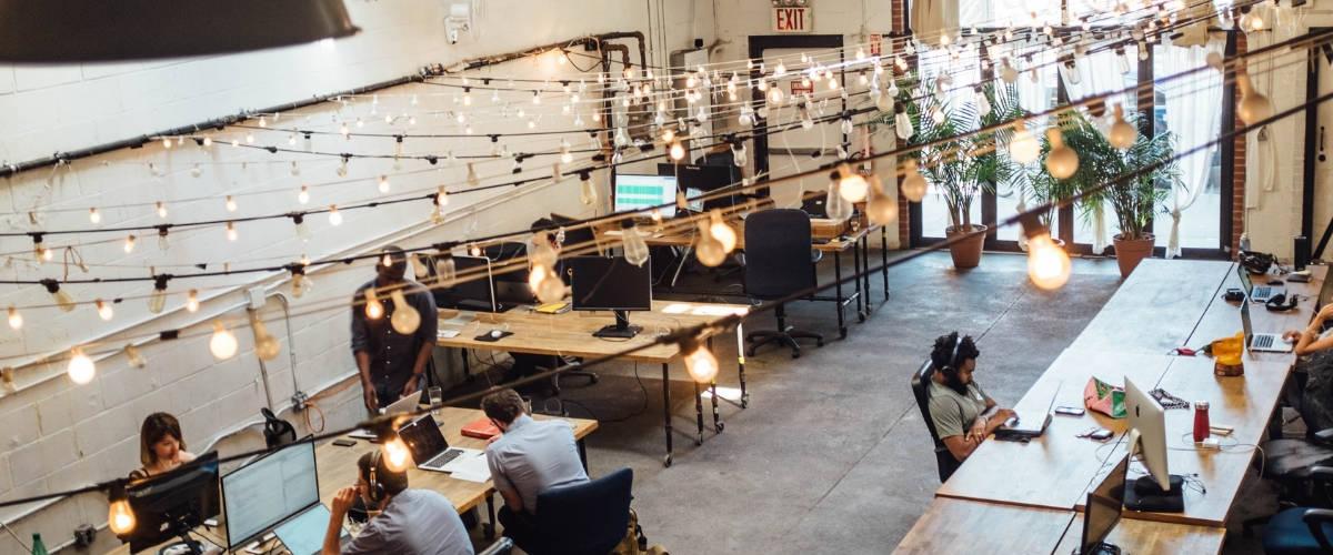 Un espace de coworking