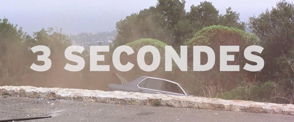Une voiture tombée dans un ravins