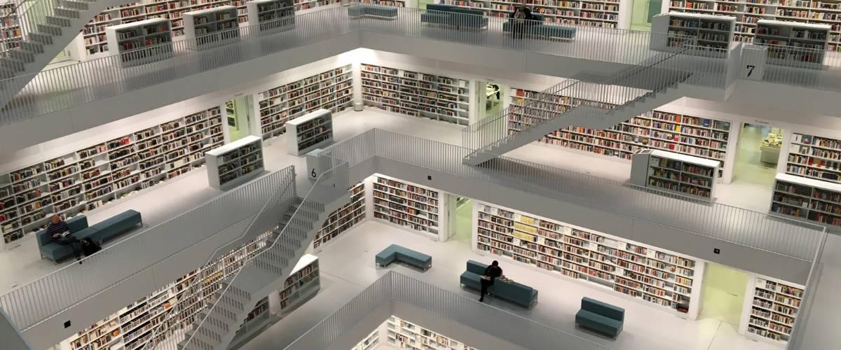Une bibliothèque