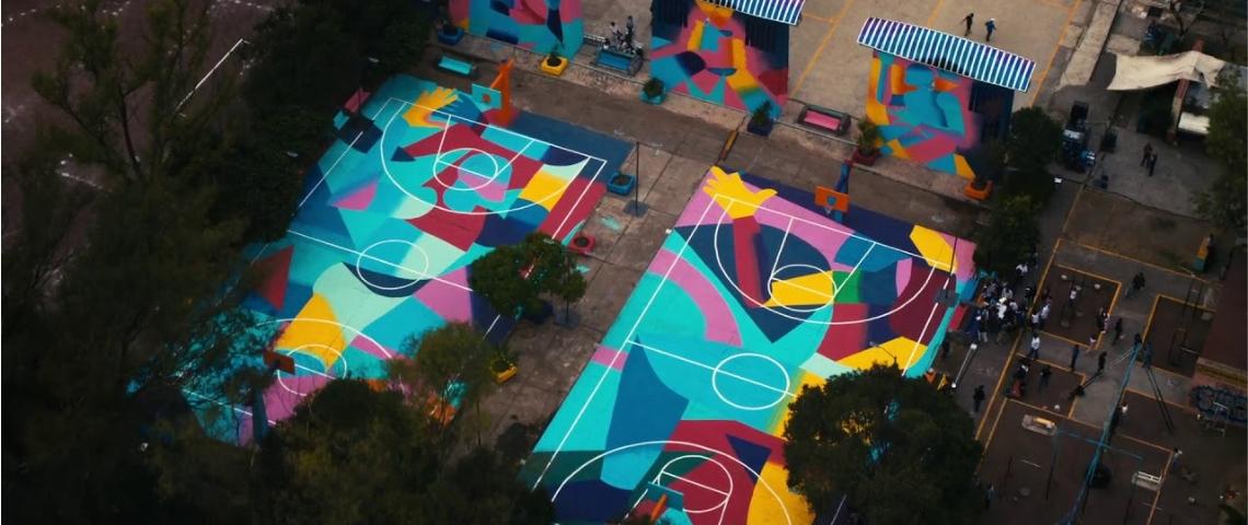 Des espaces sportifs créés par les marques