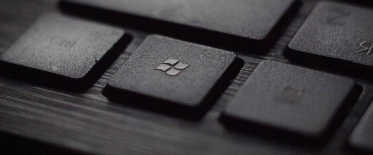 Un clavier microsoft