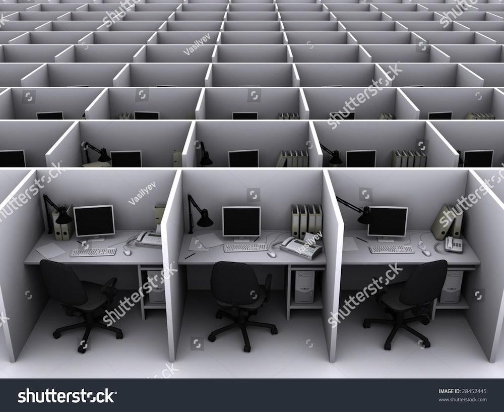 un open-space vide