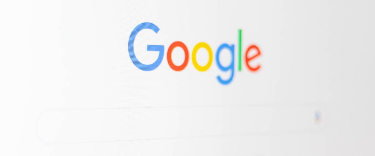 Page d'accueil du moteur de recherche Google