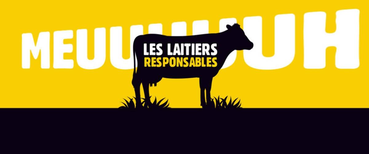 Le dessin d'une vache noire sur un fond jaune