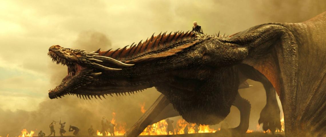 dragon de game of thrones