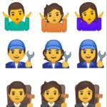 nouveaux emojis non genrés de Google