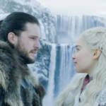 jon snow et daenerys game of thrones