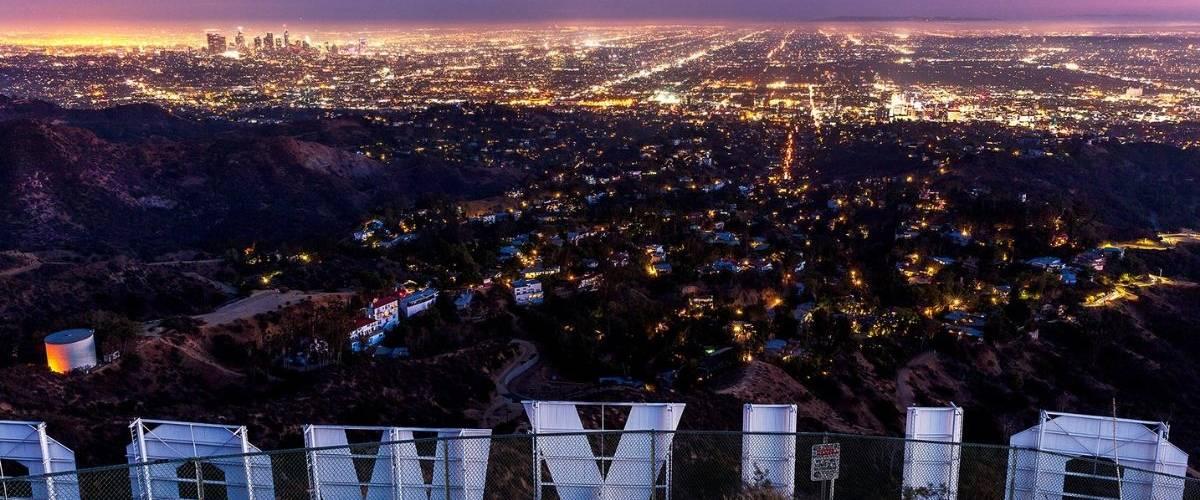 Paysage panoramique de la ville de Los Angeles