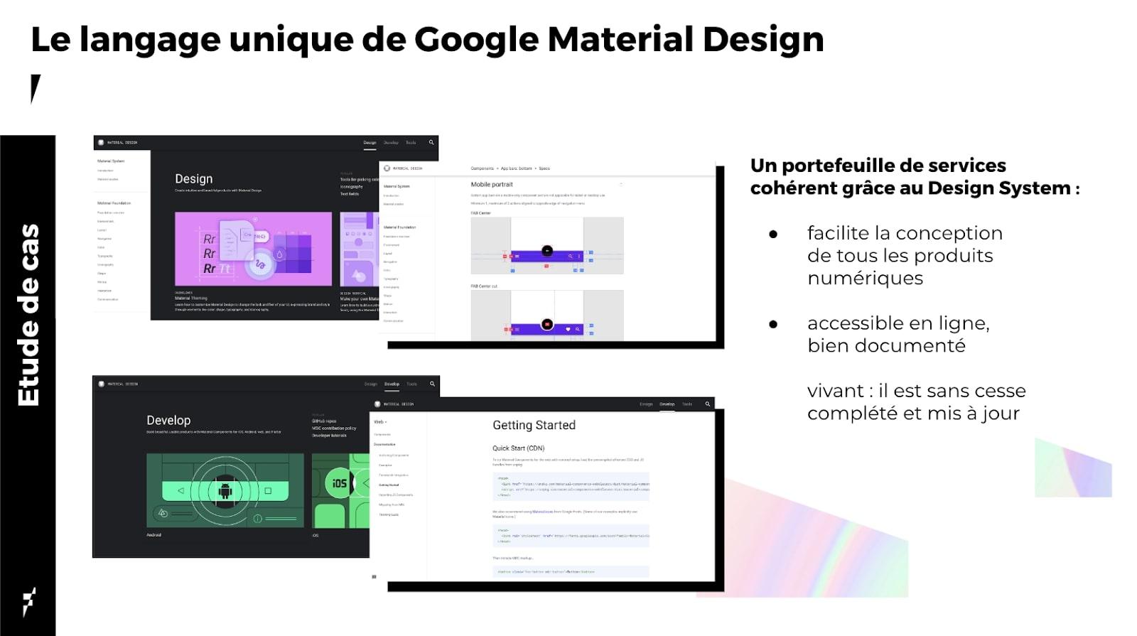 Le Design System de Google