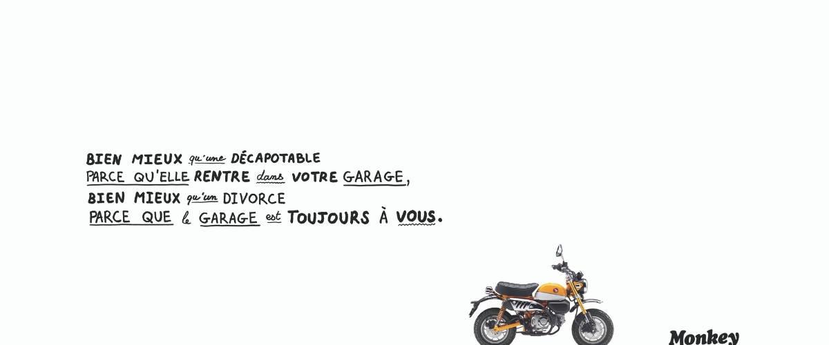 Moto Monkey par Honda Moto