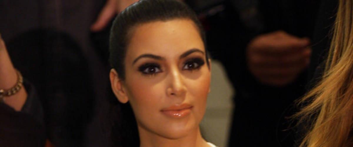 L'influenceuse Kim Kardashian