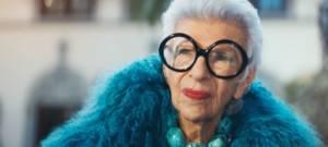 À 97 ans, Iris Apfel devient égérie des glaces Magnum