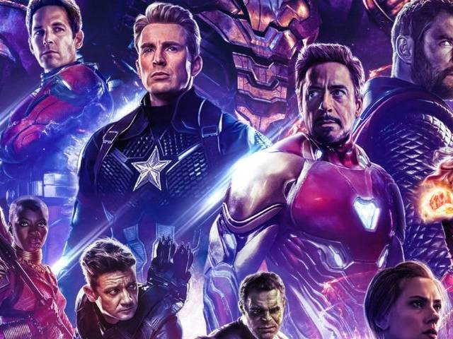 Affiche alternative Avengers Endgame