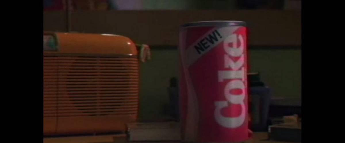 Une bouteille de New Coke