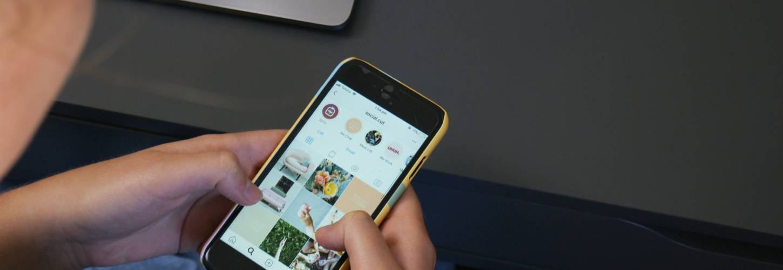 Iphone sur Instagram