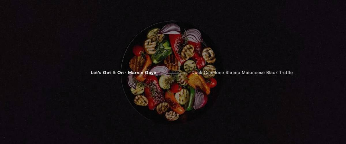Un plat à base de canard en lien avec la musique de Marvin Gaye