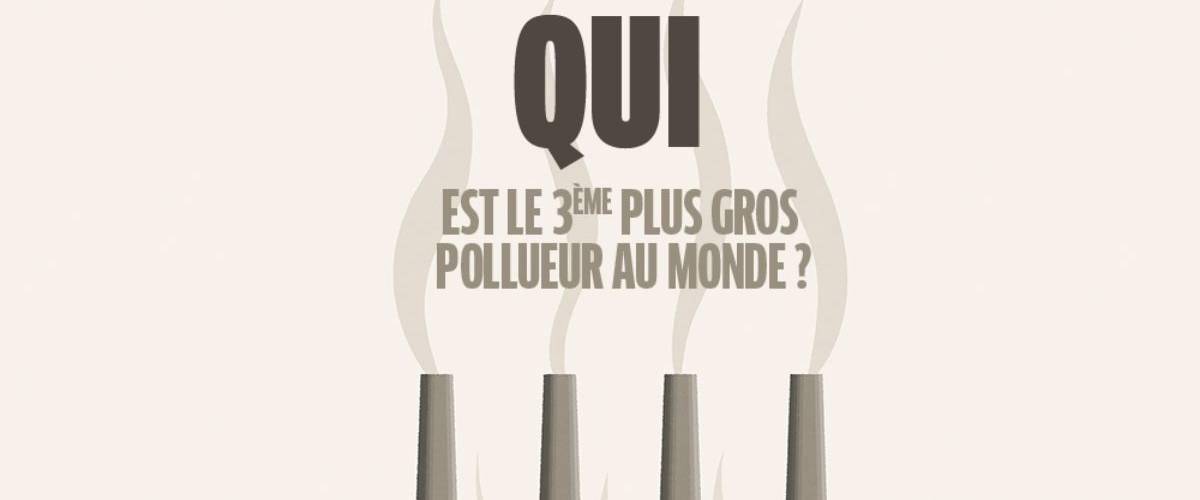 - Qui est le troisème plus grand pollueur au monde -