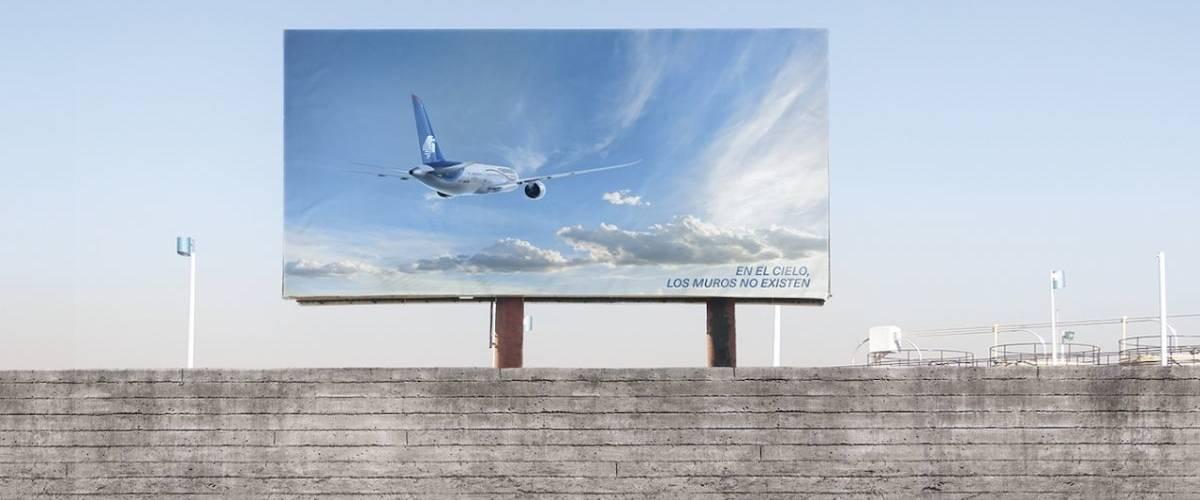 Affiche de la compagnie méxicaine Aeroméxico