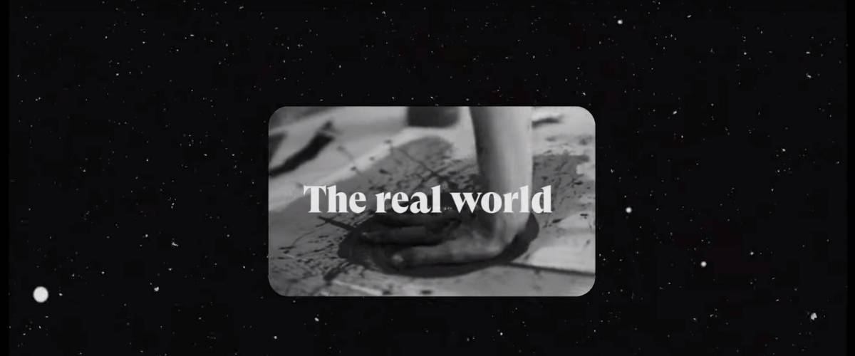 - The real world -
