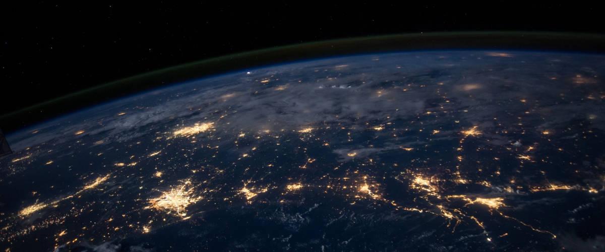 Photo de la Terre depuis un satellite de la NASA