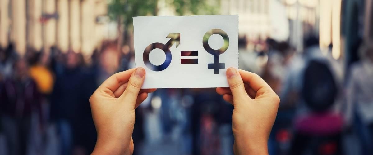 un signe homme = femme