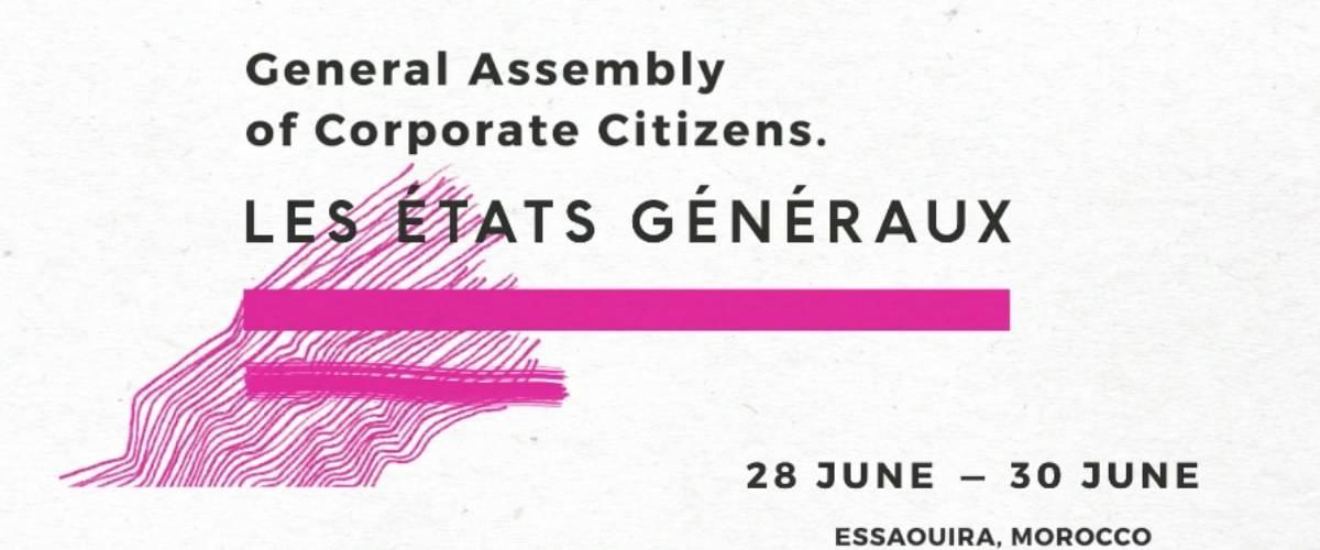 Affiche des Les Etats Généraux des entreprises citoyennes 2019