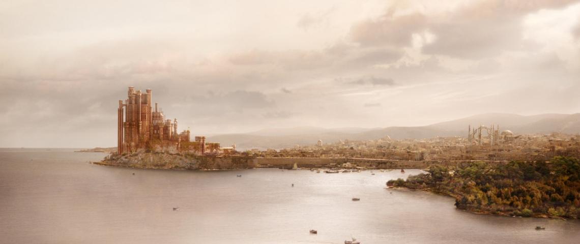King's landing de Game of Thrones