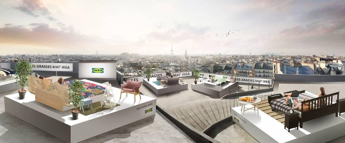 Vue sur la ville de Paris