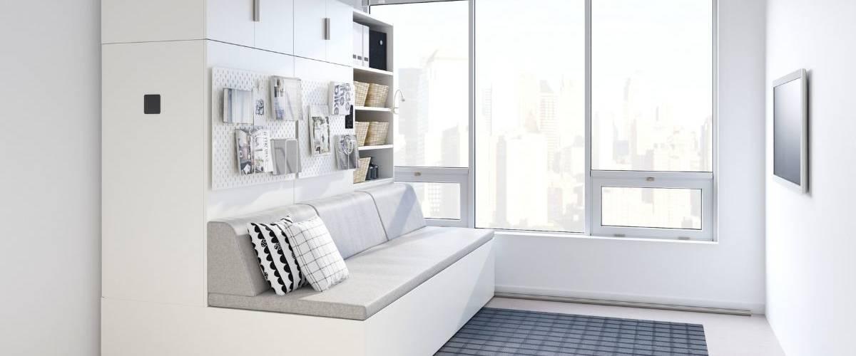 Prototype du meuble robotisé IKEA