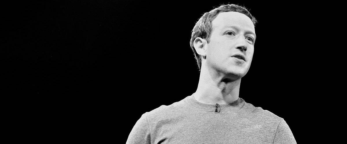 Portrait de Mark Zuckerberg, PDG du groupe Faceboook
