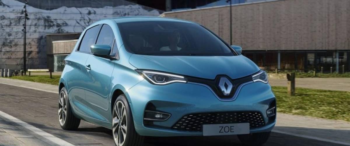 Nouveau modèle de la Zoé 2019