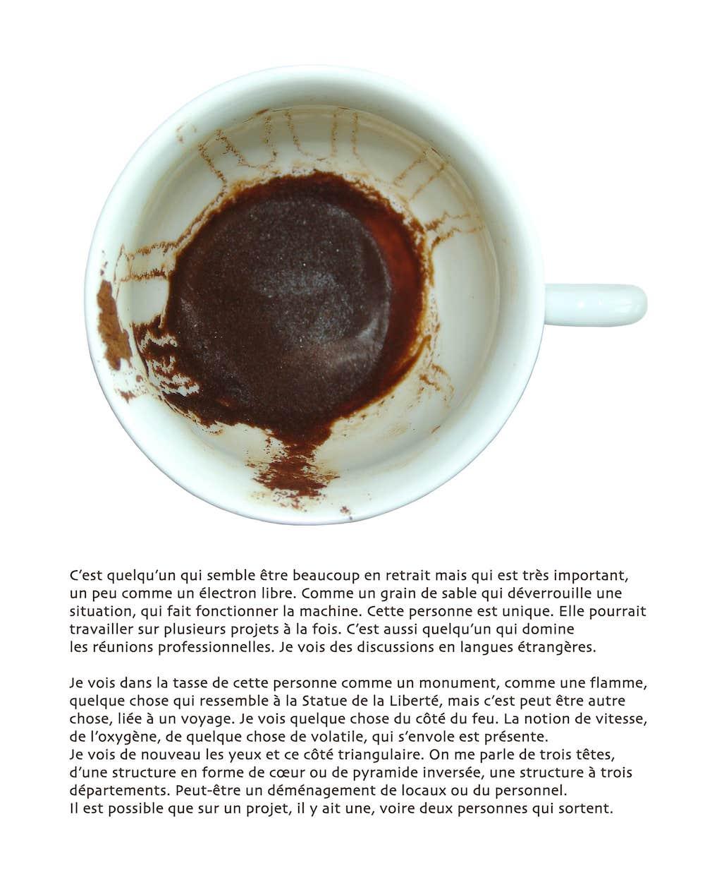 tasse à café et voyance