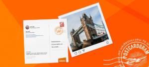 easyJet transforme vos photos Instagram en cartes postales