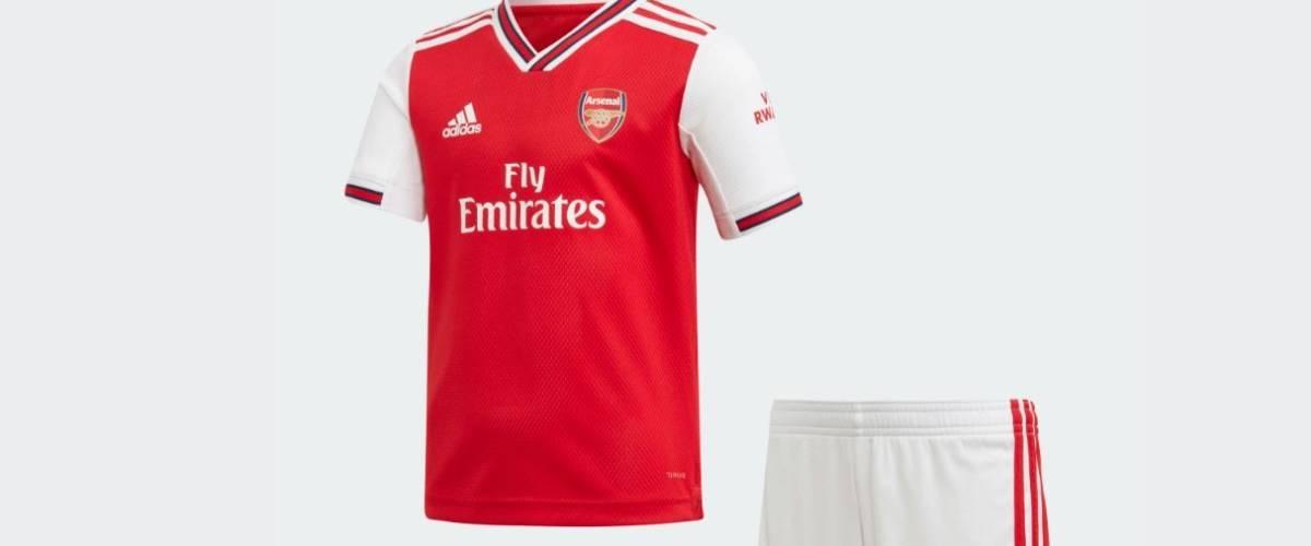 Nouveau maillot de l'équipe de football Arsenal